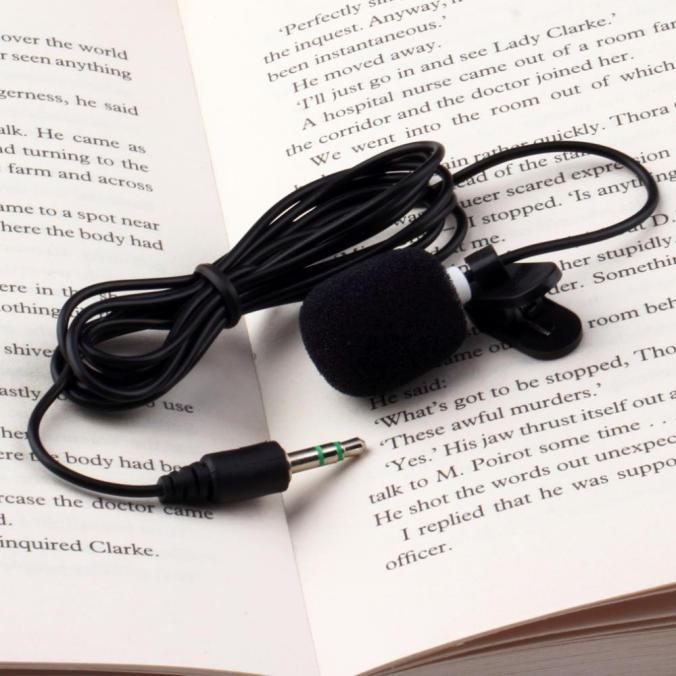 microfono clip